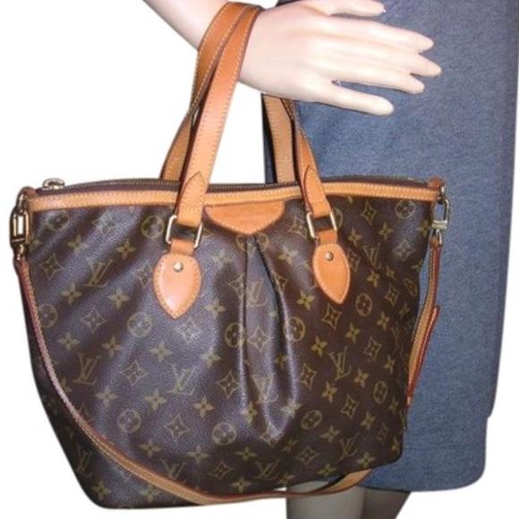 4b792dc0e90a Louis Vuitton Handbags - Palermo Pm Brown Monogram Leather Shoulder Bag